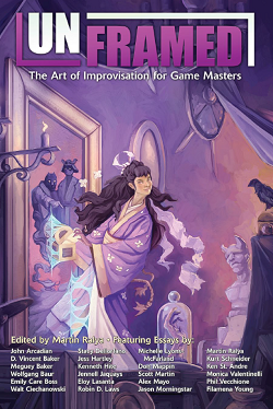 Preorder Unframed: The Art of Improvisation for Game Masters in our online store