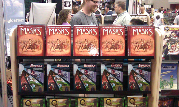 Our books at GenCon 2011