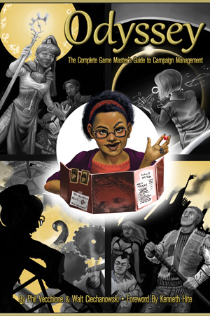 Preorders are now open for Odyssey: The Complete Game Master's Guide to Campaign Management