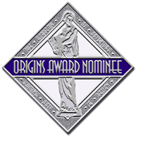 Never Unprepared has been nominated for a 2013 Origins Award