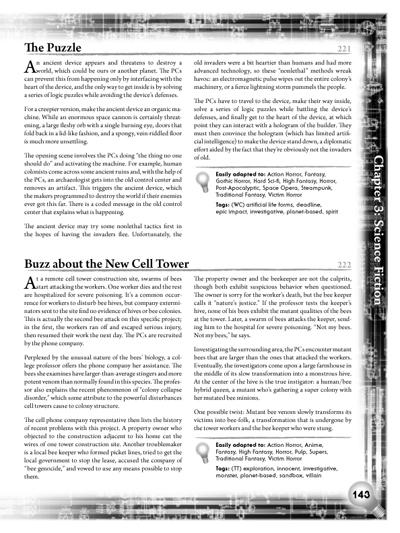 Eureka Sample 2: Sci-fi Plots